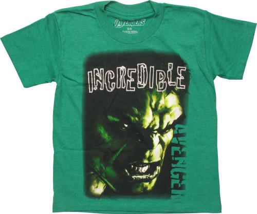 Incredible Hulk Avenger Juvenile T-Shirt