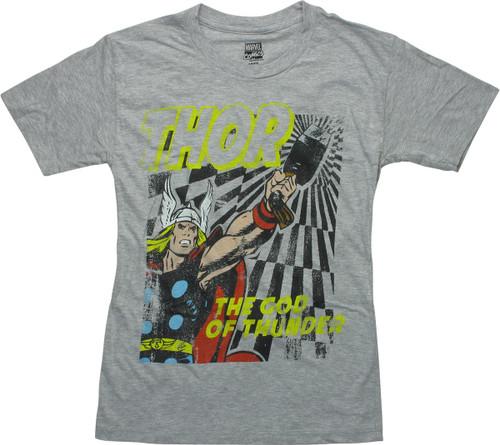 Thor God of Thunder Youth T-Shirt
