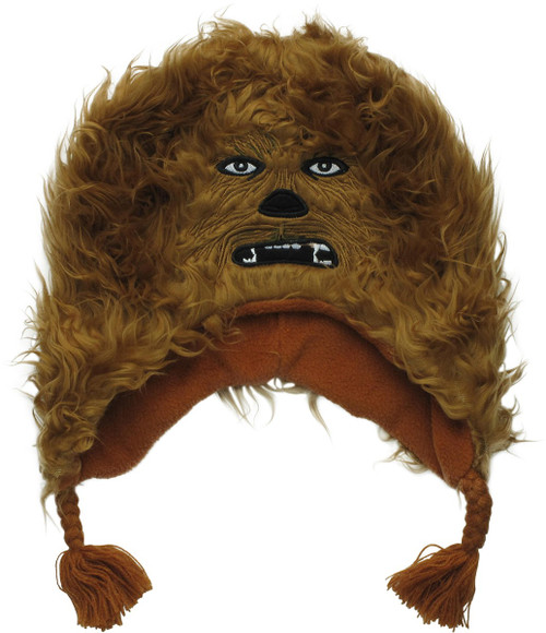 Star Wars Chewbacca Face Lapland Youth Beanie