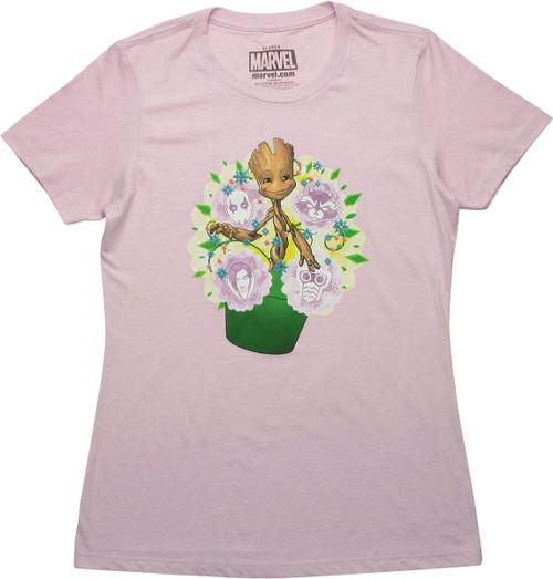 Guardians of the Galaxy Groot Pot Juniors T-Shirt
