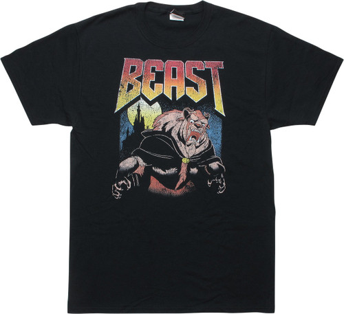 Beauty and the Beast BEAST Distressed T-Shirt