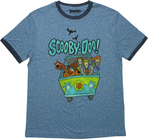 Scooby Doo Mystery Machine Scare Ringer T-Shirt