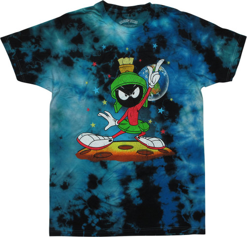 Looney Tunes Marvin the Martian Tie Dyed T-Shirt
