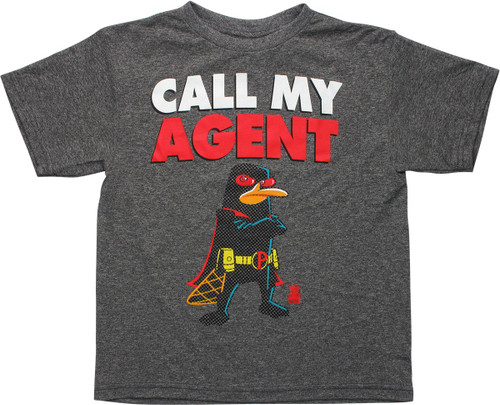 Phineas and Ferb Call My Agent Youth T-Shirt
