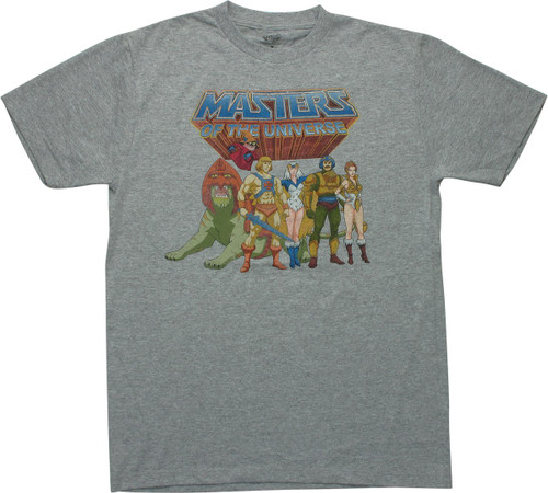 He Man Masters of the Universe Characters T-Shirt