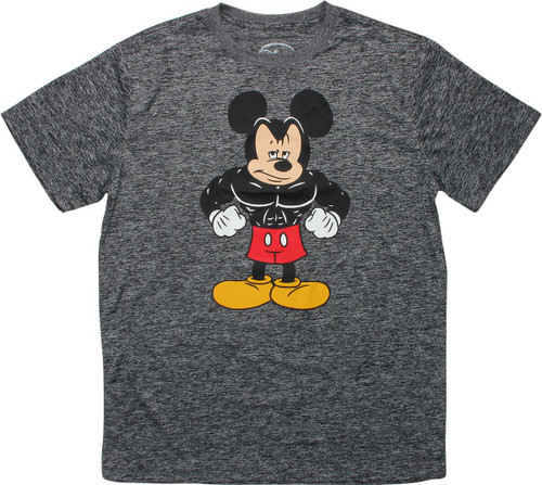Mickey Mouse Muscular Body Builder T-Shirt