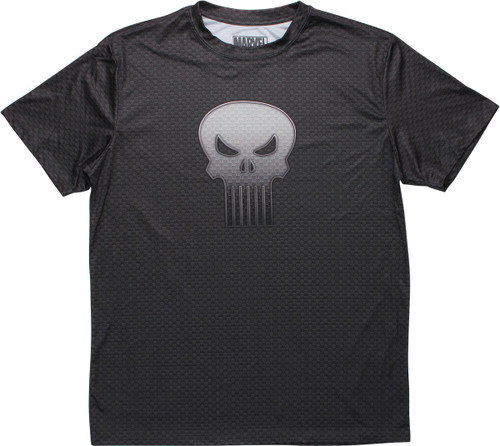 Punisher Skull Logo All Over Print Skulls T-Shirt