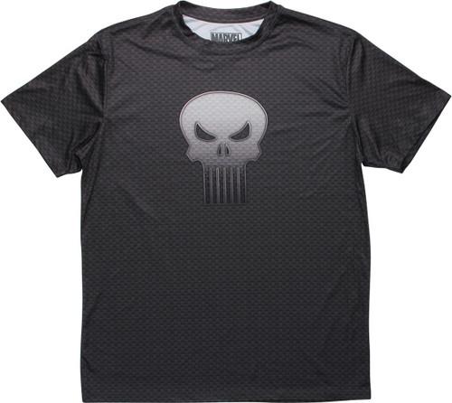 Punisher Skull Logo All Over Print Skulls T-Shirt