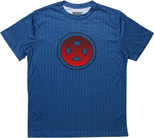 X Men Logo All Over Print Logos T-Shirt