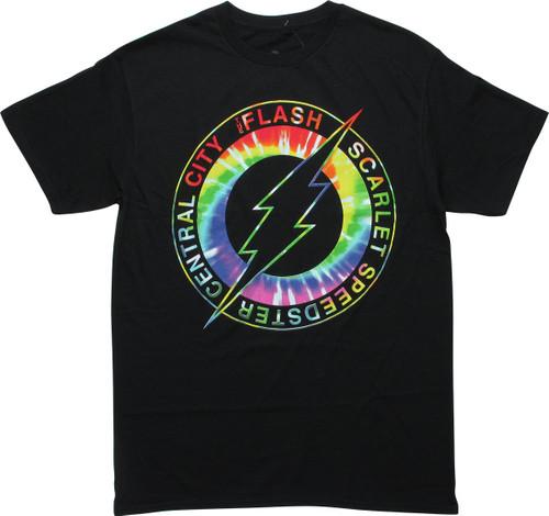 Flash Logo Scarlet Speedster Central City T-Shirt