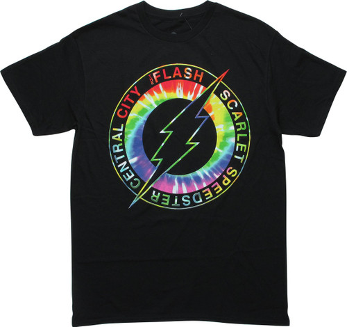 Flash Logo Scarlet Speedster Central City T-Shirt