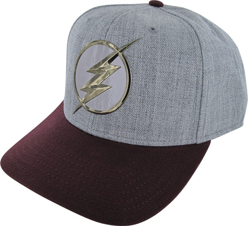 Flash TV Logo Chrome Weld Snapback Hat