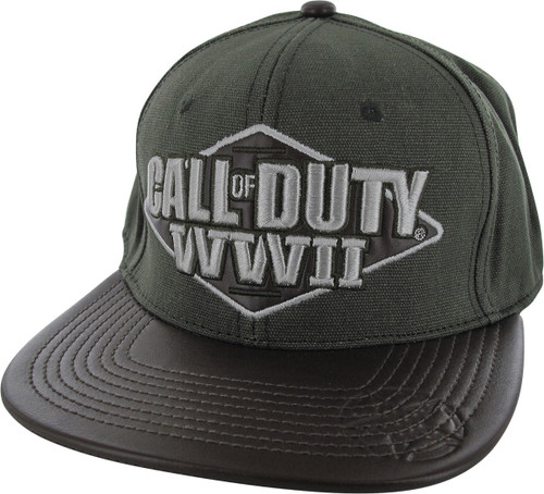 Call of Duty WWII Logo Snapback Hat
