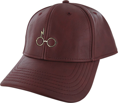 Harry Potter Harry Icon Faux Leather Buckle Hat