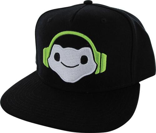 Overwatch Lucio Icon Snapback Hat