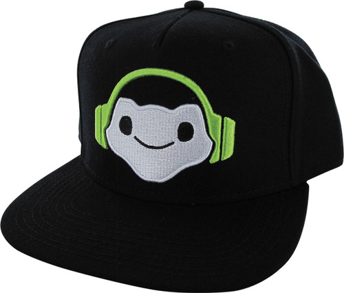 Overwatch Lucio Icon Snapback Hat