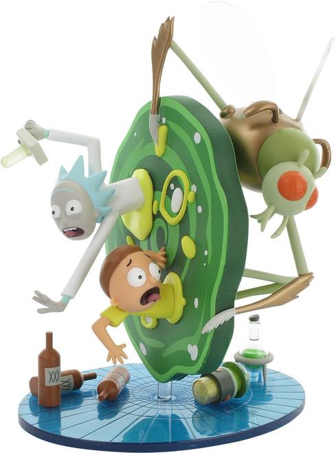 Rick and Morty Portal Jump Vinyl Figurine