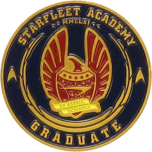 Star Trek Starfleet Academy Metal Coin