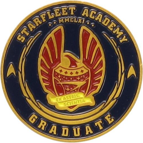 Star Trek Starfleet Academy Metal Coin