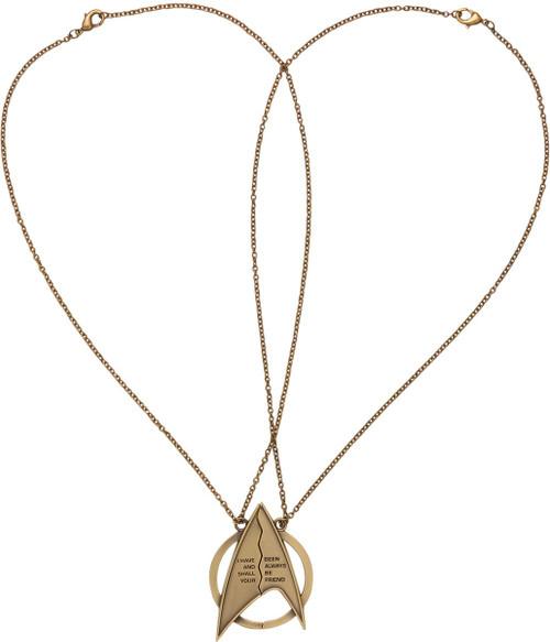 Star Trek Friendship Magnetic Necklace Set