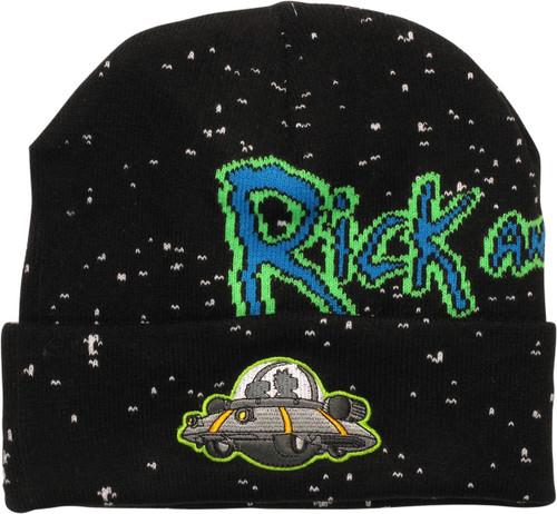 Rick and Morty Spaceship Cuff Beanie