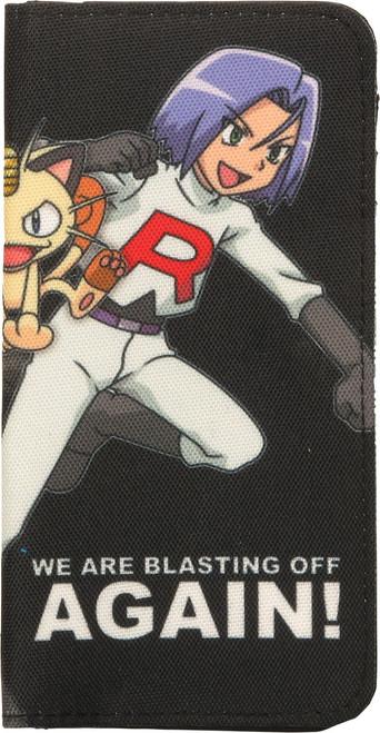 Pokemon Team Rocket Blasting Snap Clutch Wallet