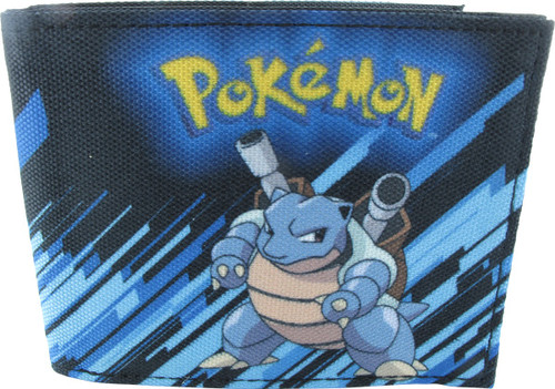 Pokemon Blastoise Pose Bi-fold Wallet