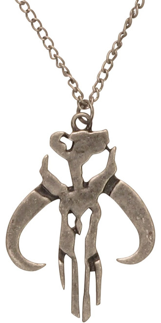 Star Wars Mandalorian Warrior Icon Necklace
