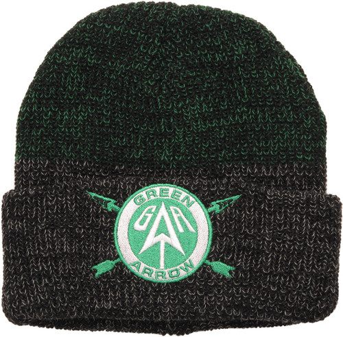 Green Arrow Logo Cuff Beanie