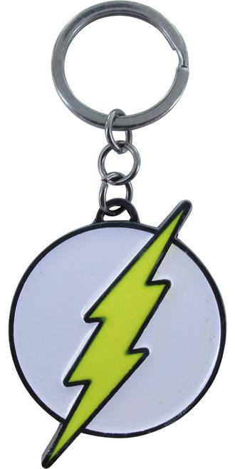 Flash Logo Metal Keychain