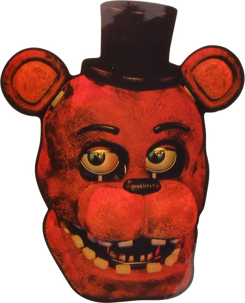 Five Nights at Freddy's Fazbear Head Sticker