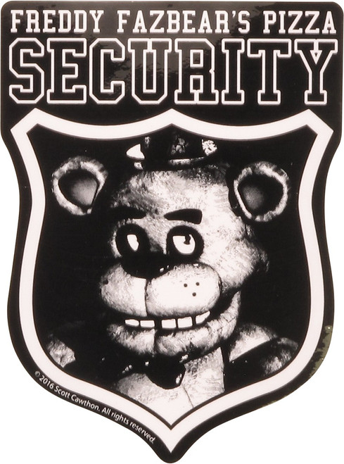 Five Nights at Freddy's Security Sticker
