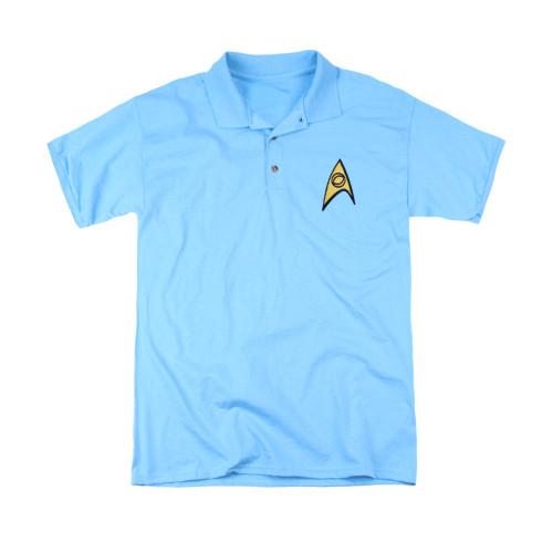 Star Trek TOS Science Patch Polo Shirt