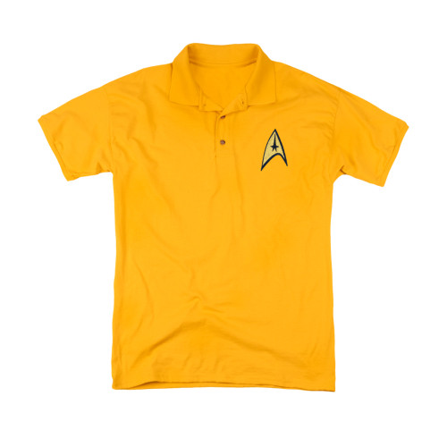 Star Trek TOS Command Patch Polo Shirt