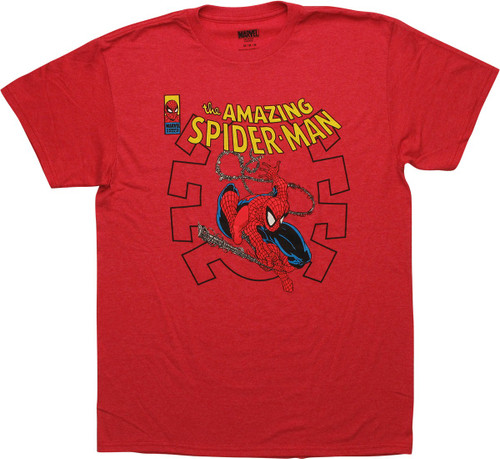 Amazing Spiderman 301 Comic Cover Art Logo T-Shirt