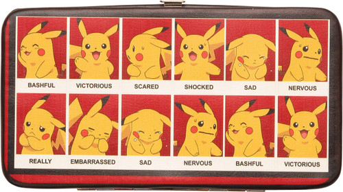 Pokemon Pikachu Emotions Clutch Wallet