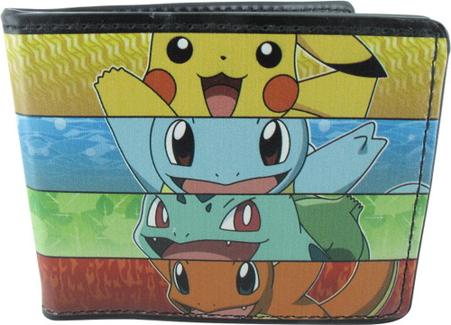 Pokemon Starter Group Rectangles Wallet
