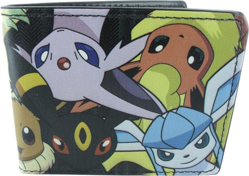 Pokemon Eevee Evolutions Faces Wallet