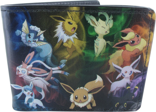 Pokemon Eevee Evolutions Wallet