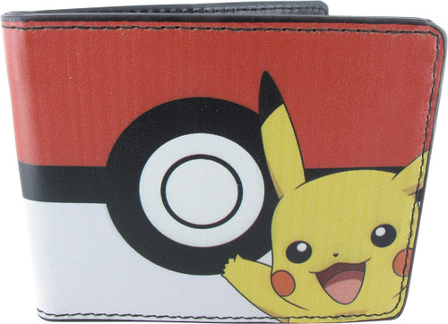 Pokemon Pikachu Poke Ball Wallet