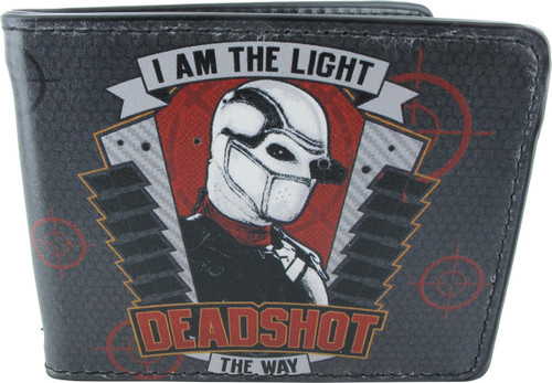 The Way Bi Fold Wallet Suicide Squad Deadshot Skull  I Am The Light