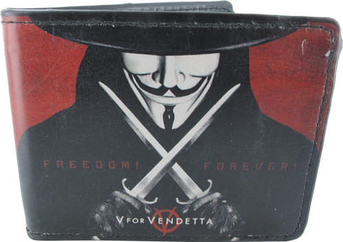 V for Vendetta Freedom Forever Wallet