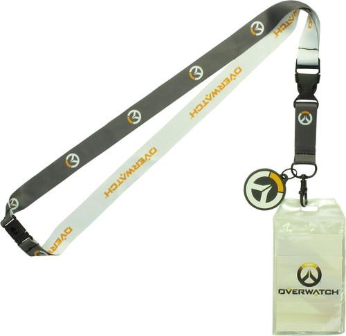 Overwatch Logo Charm Lanyard