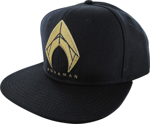 Aquaman Justice League Logo Snapback Hat