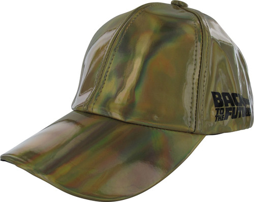 Back to the Future 2 Reflective Gold Velcro Hat