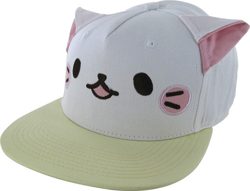 Bananya Cat Face Snapback Hat