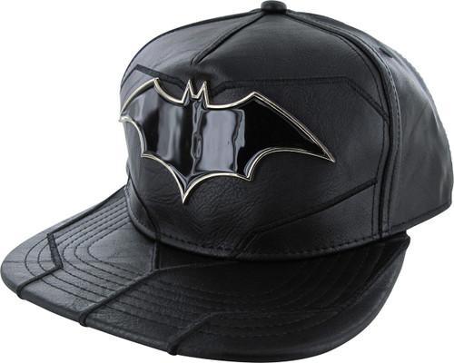 b19e591de Batman Rebirth Suit Up Metal Badge Snapback Hat