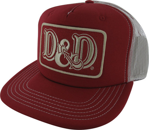 eb4001f4d06 Dungeons and Dragons Logo Patch Trucker Hat