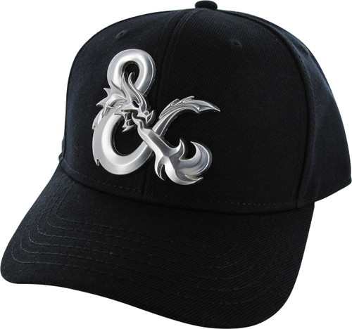 Dungeons and Dragons Ampersand Logo Snapback Hat