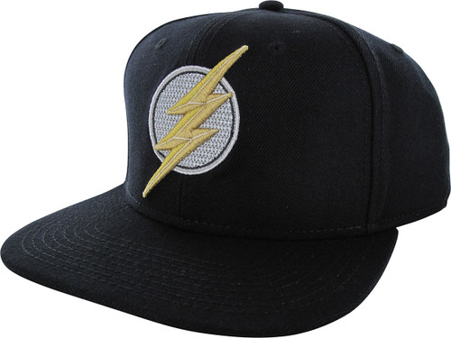 Flash Embroidered Logo Core Line Snapback Hat